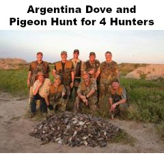 Argentina Dove and Pigeon Hunt