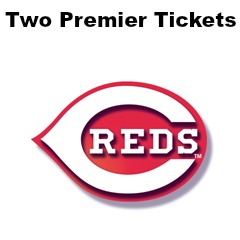 Two Premier Cincinnati Reds Tickets