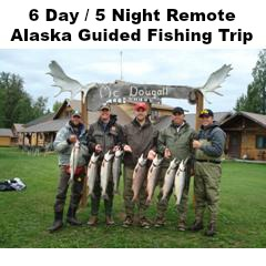 Remote Alastka Fishing Trip