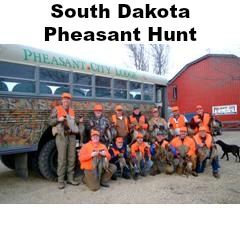 3 Day South Dakota Pheasant Hunt for 2